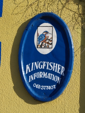 Kingfisher Tackleshop Sign